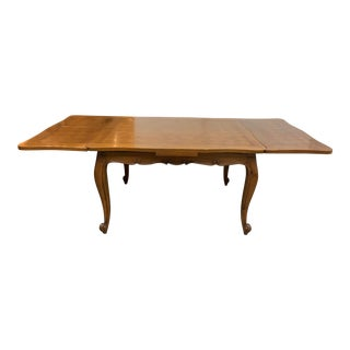 Vintage French Style Extension Dining Room Table For Sale