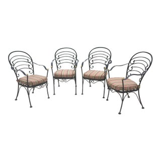Early 21st Century Woodard Wrought Iron Patio Set- 5 Pieces Preview