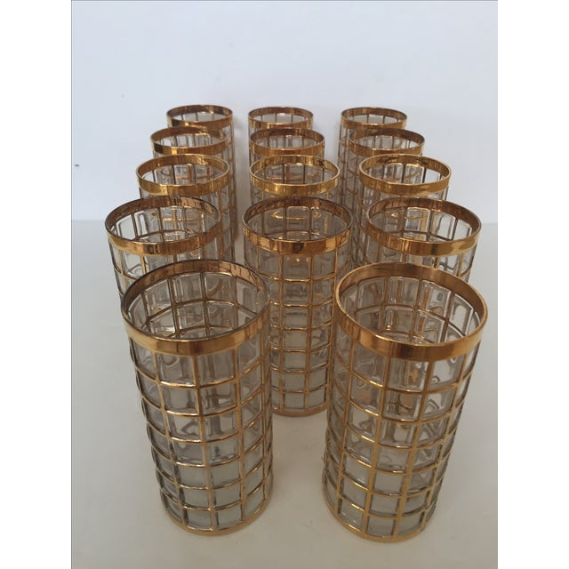 Cant resist these Imperial Gold glasses in any pattern. This group of 15 Toril De Oro glasses are no exception. They were...