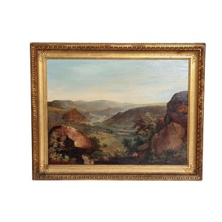 A LARGE LANDSCAPE BY WILLIAM GILL For Sale