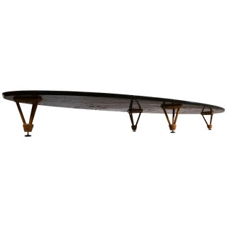Charles and Ray Eames Elliptical Coffee Table for Herman Miller Surfboard For Sale