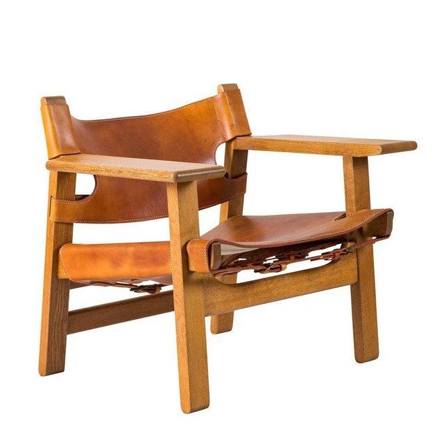 "Børge Mogensen ""Spanish"" Chair - Image 5 of 10"