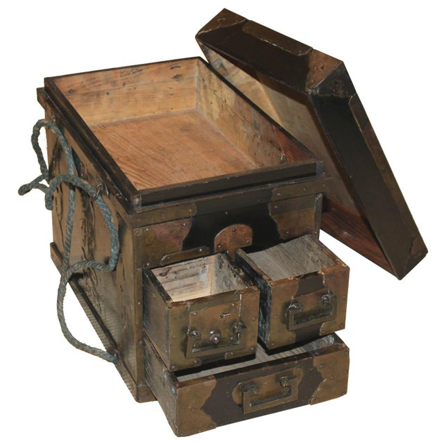 19th Century Japanese Medicine Boxes - a Pair For Sale In San Francisco - Image 6 of 12
