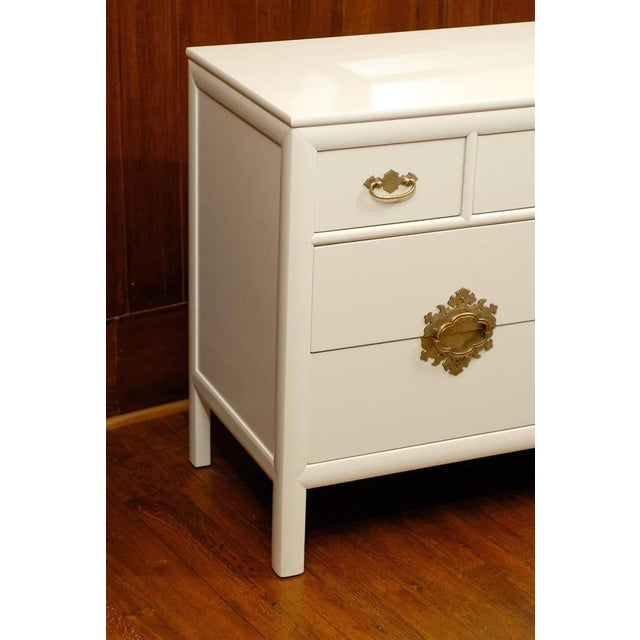 Gorgeous Ten-Drawer Chest by Century Furniture Company, Pair Available For Sale In Atlanta - Image 6 of 11