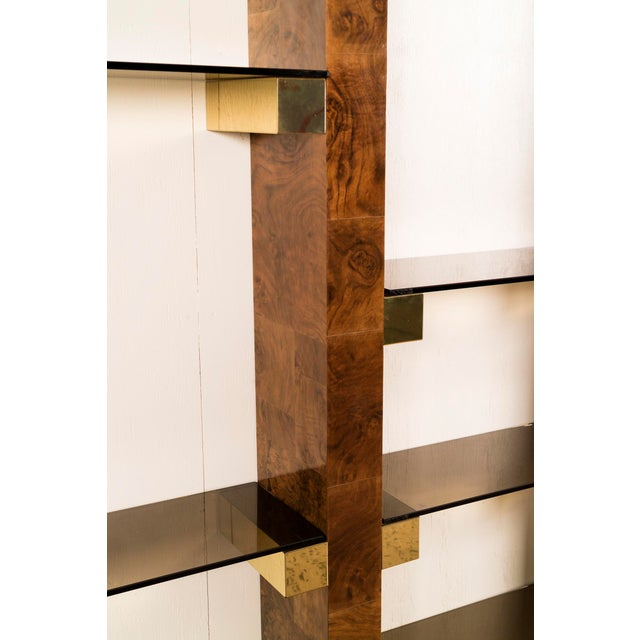 Paul Evans Wall-Mounted Book Shelves For Sale In New York - Image 6 of 8