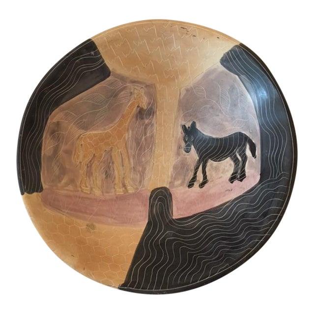 Handmade African Ceramic Bowl - Image 1 of 6