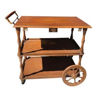 Walter of Wabash Bar Cart