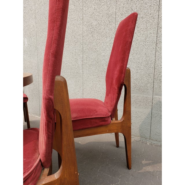 Mid-Century Modern 1950s Mid Century Dining Set - 5 Pieces For Sale - Image 3 of 6