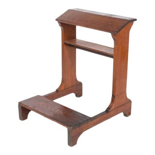 Early 20th-Century Kneeling Prayer Bench For Sale
