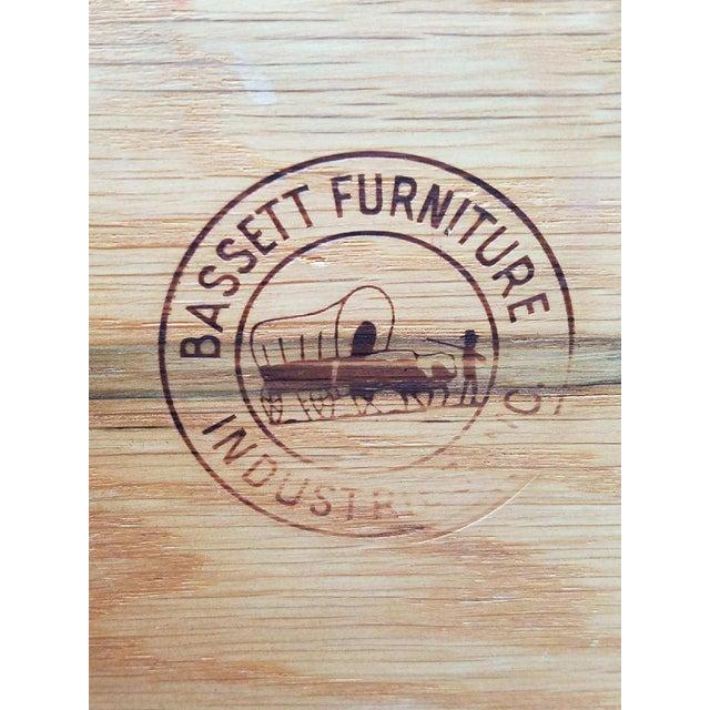 Vintage Bassett Walnut Dresser - Image 4 of 5