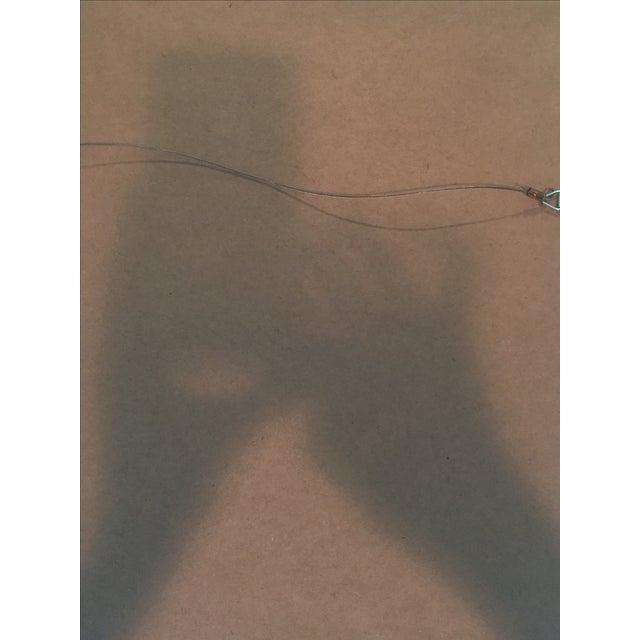 Framed Ikat Handmade Art - Pair of 2 - Image 4 of 10