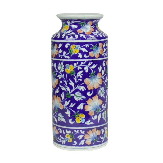 Navy Jaipur Vase - Image 2 of 5