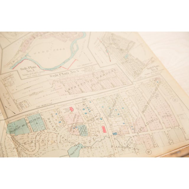 Traditional Vintage Hopkins Map of Village of Peekskill For Sale - Image 3 of 6