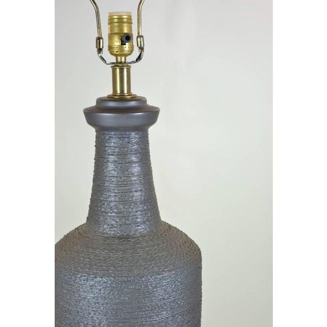 Lee Rosen for Design Technics Ceramic Lamp For Sale In New York - Image 6 of 6
