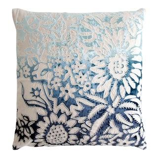 Garland Applique Linen Pillow