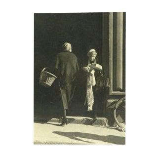 Joseph Consavela, Vintage Silver Gelatin Photograph - Provence Market For Sale