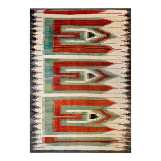 Bold Early 20th Century Shahsevan Kilim Rug For Sale