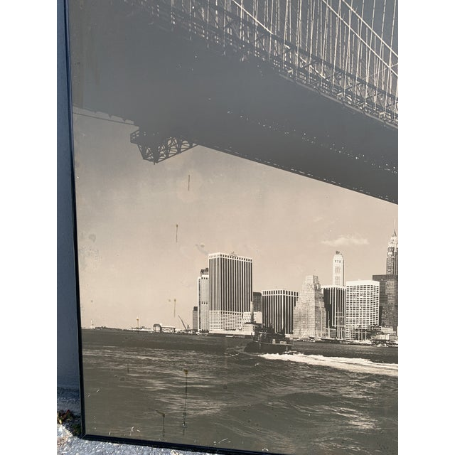 1970s Lower Manhattan Cityscape Photograph, Framed For Sale In Miami - Image 6 of 11