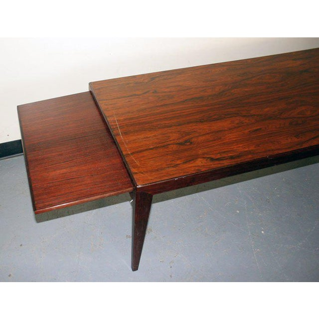 Mid-Century Modern Danish 1950's Coffee Table For Sale - Image 3 of 7