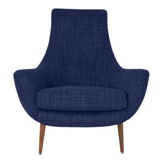 Modern Medellin Mid-Century Style Lounge Chair For Sale