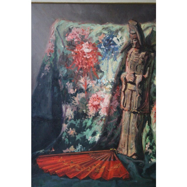 Caddell Japanese Scene Painting For Sale - Image 9 of 11