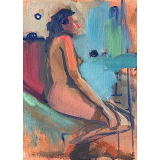 Impressionist Untitled Nude Painting For Sale