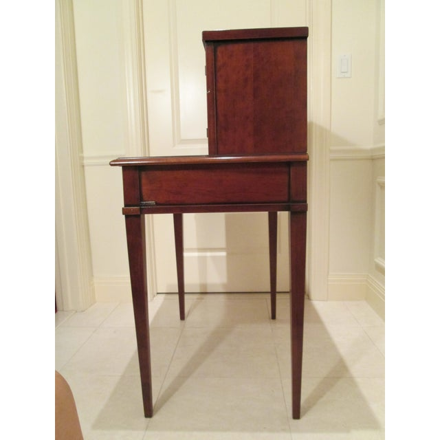 Grange Writing Desk with Curio For Sale - Image 5 of 12