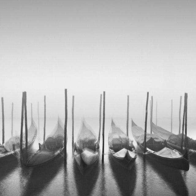 "Maggy Morrissey ""Gondolas in the Fog"" Framed Print - Image 2 of 2"