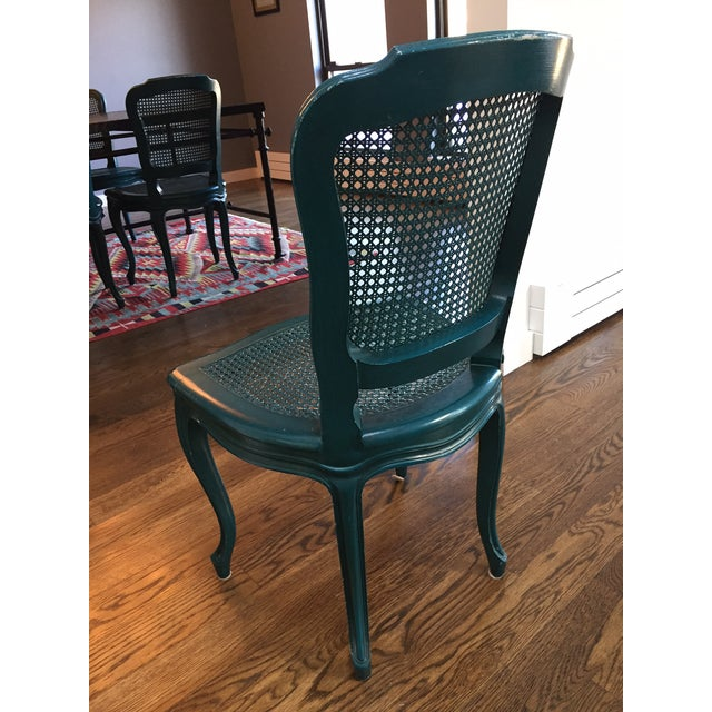 Iron & Mosaic Dining Set - Table & 6 Chairs - Image 7 of 8