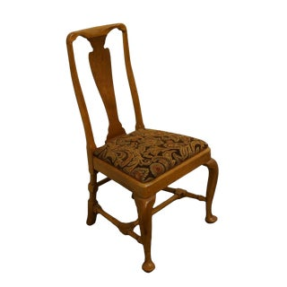 Drexel Heritage Queen Anne Style Dining / Side Chair For Sale