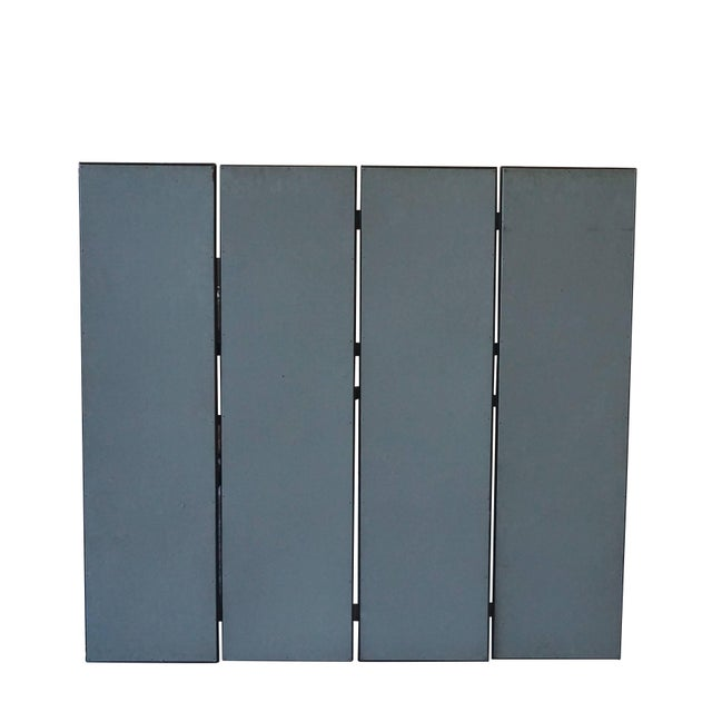 Italian Mid-Century Modern Italian Four-Panel Room Screen After Piranesi For Sale - Image 3 of 4