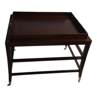 Bolier & Co. Rectangular Side Table For Sale