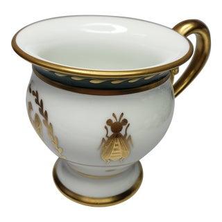 1950s Porcelain e.g Limoges France Hand Painted e.g Gold Trim Tea Cup For Sale