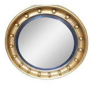 English Regency Gilt Bullseye Mirror For Sale
