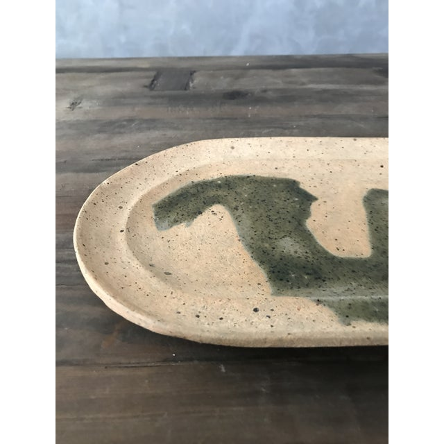 Hand Painted Clay Tray - Image 4 of 6