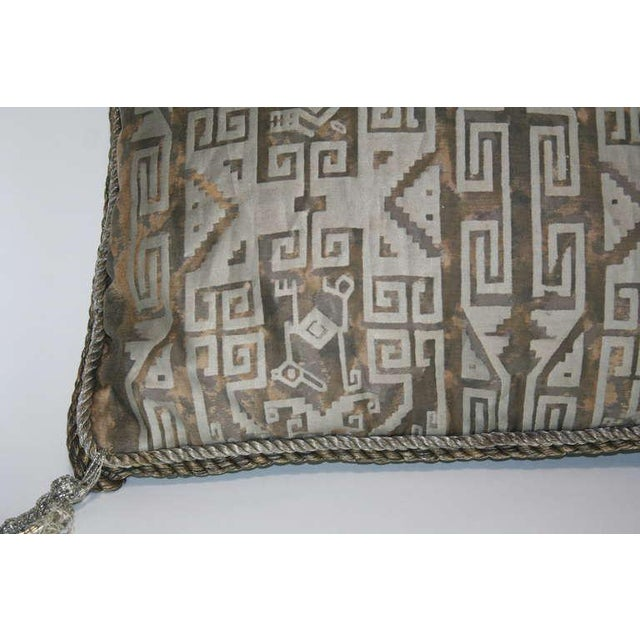Fortuny Vintage Fortuny Pillow For Sale - Image 4 of 7