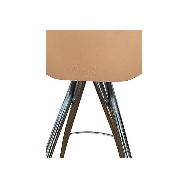 Roberto Foschia Italian Midj Bar Stools - Set of 4 For Sale In Boston - Image 6 of 8