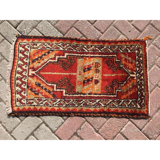Vintage Anatolian Area Rug For Sale - Image 4 of 8