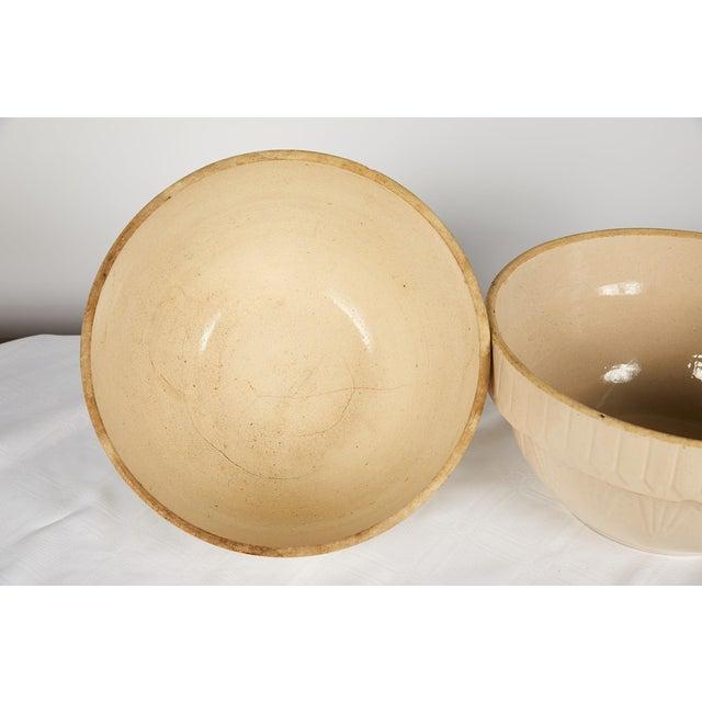 American Art Deco Earthenware Mixing Bowl Set For Sale In Atlanta - Image 6 of 13