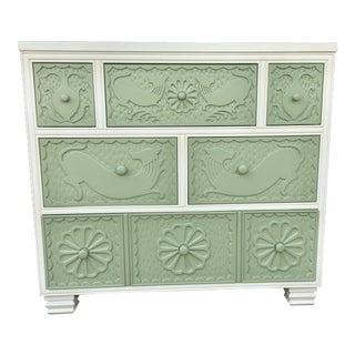 Hickory Chair Six Drawer Dresser