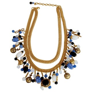 Francoise Montague Replique Charm Necklace For Sale