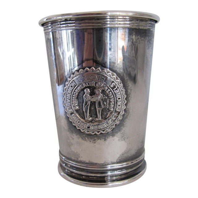 Vintage Honorable Order of Kentucky Colonels Mint Julep Cup