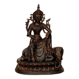 Casting of a Bodhisatva, China 1980 For Sale