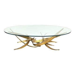 Mid Century Modern Brutalist Coffee Table For Sale