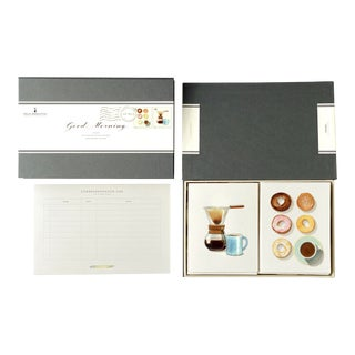 """Good Morning"" - Couplet Boxed Stationery - Folded Card Pair - Set of 10 For Sale"