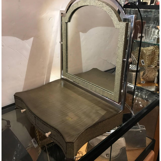 Theodore Alexander Vanity or Shaving Mirror For Sale In Philadelphia - Image 6 of 11