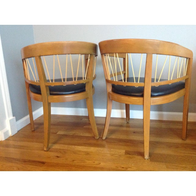 Edward Wormley for Drexel Armchairs - A Pair - Image 5 of 11