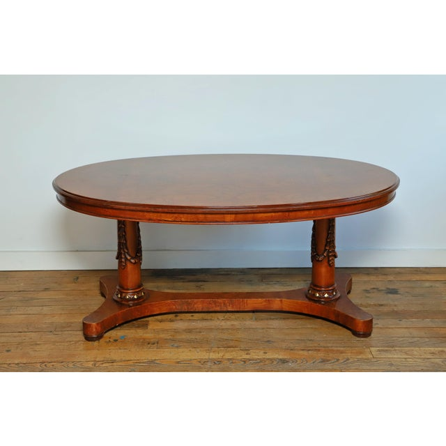 Brown Francesco Molon Center Table From Waldorf Astoria For Sale - Image 8 of 8