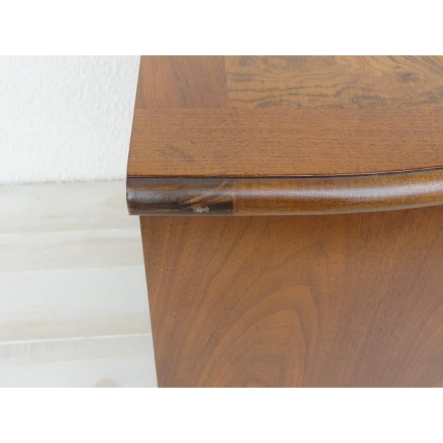 20th Century Traditional Baker Furniture Mahogany Nightstand For Sale - Image 11 of 13