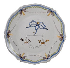 Image of French Provincial Decorative Plates